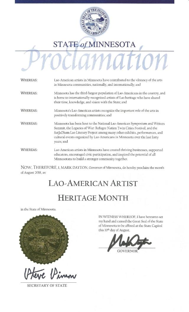 2018_08_Lao American Artist Heritage Month